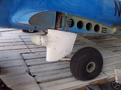 early style landing gear